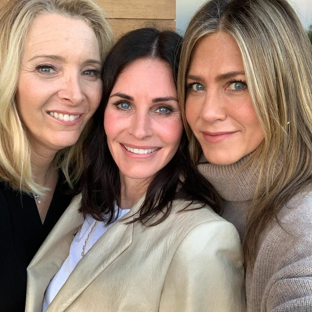 Lisa Kudrow, Courteney Cox i Jennifer Aniston