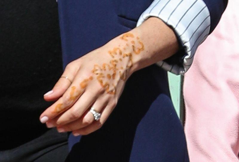 Tatuaż Z Henny Na Dłoni Księżnej Meghan Galeria Zdjęcie 8