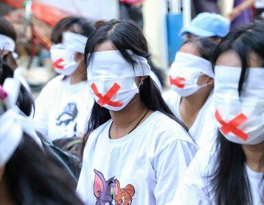 Pucz w Mjanmie. Junta odcina dostęp do internetu