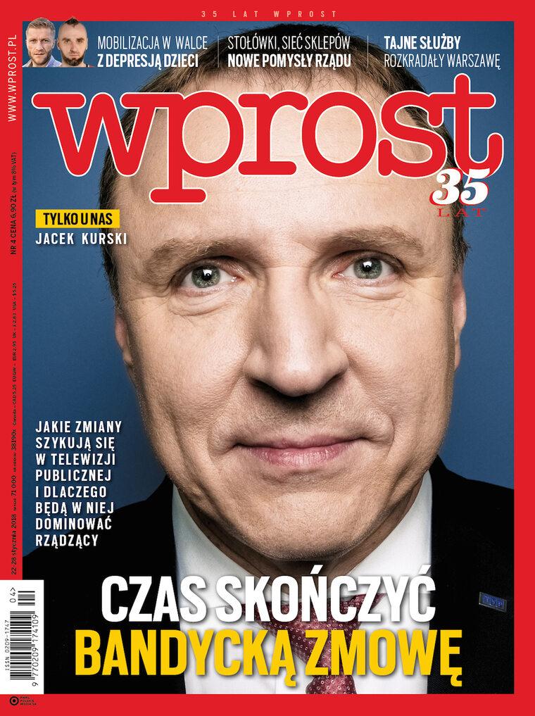 """Zmiany w TVP, nowe pomysły rządu i mafia reprywatyzacyjna. Co w nowym """"Wprost""""?"""