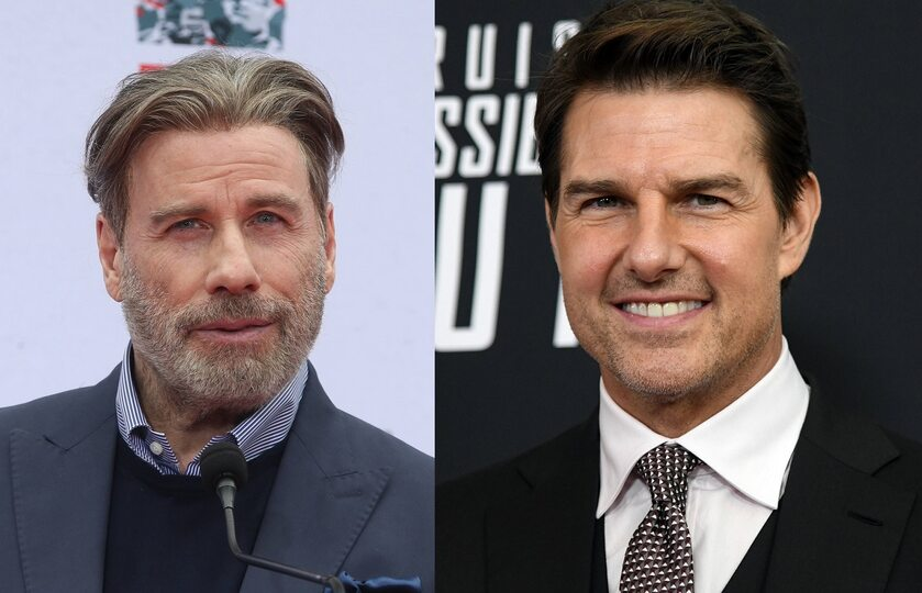 John Travolta, Tom Cruise