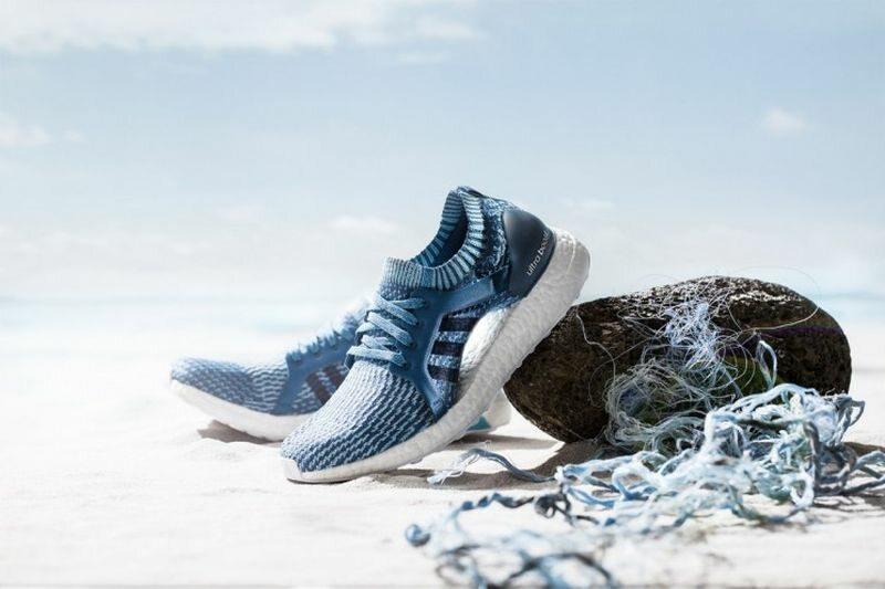 Buty Adidasa wykonane z przetworzonych plastikowych butelek