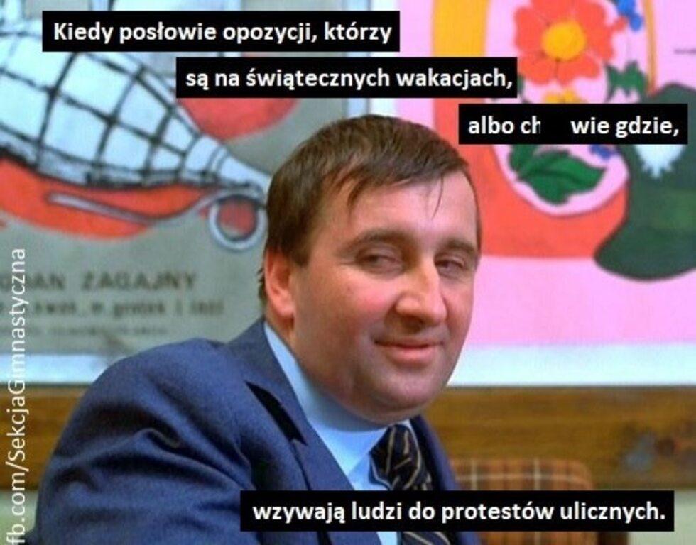 Ustawa PiS, głosowanie w Sejmie i opozycja. Najlepsze memy polityczne
