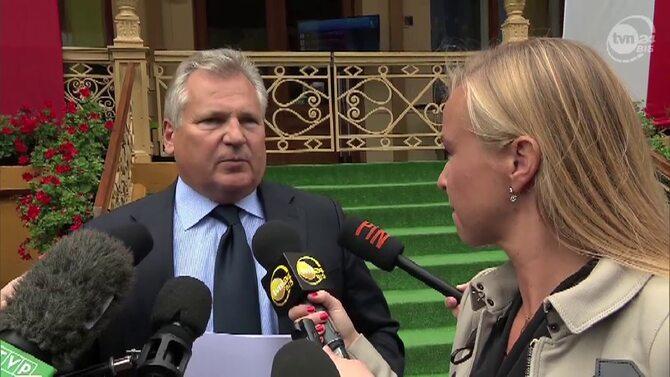 Aleksander Kwa�niewski: Euro potrzebn� Polsce kotwic�