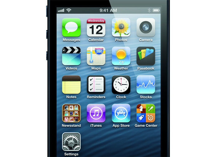 Nowy iPhone 5 (fot. Apple)