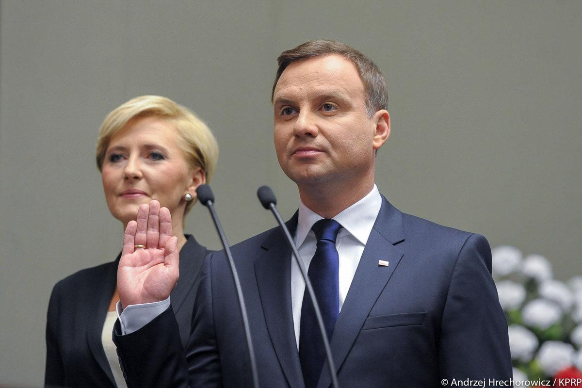 6 sierpnia 2015 roku Andrzej Duda złożył przysięgę przed...
