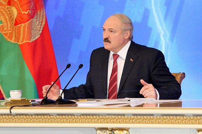Aleksander Łukaszenka, (fot. ITAR-TASS / Maksim Guchek / BelTa)