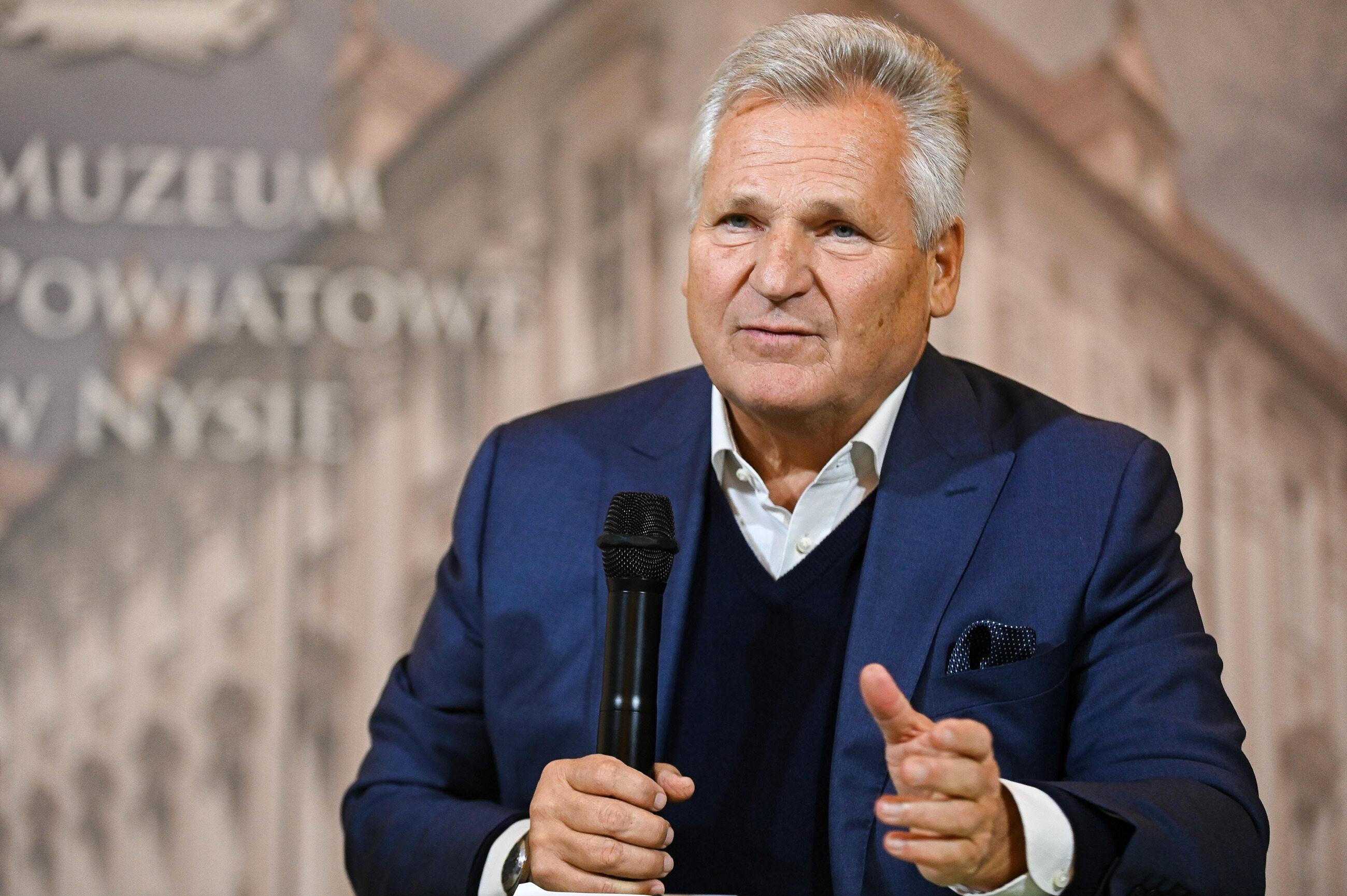 Kwaśniewski o agencie Tomku: Aresztowano go, bo powiedział prawdę i zawiódł miłość swoich przełożonych
