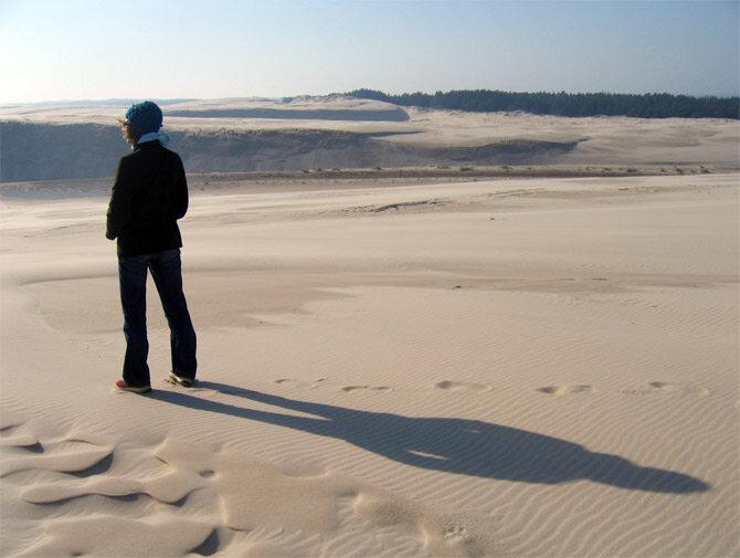 Aksamitny piasek z Łeby do wzięcia