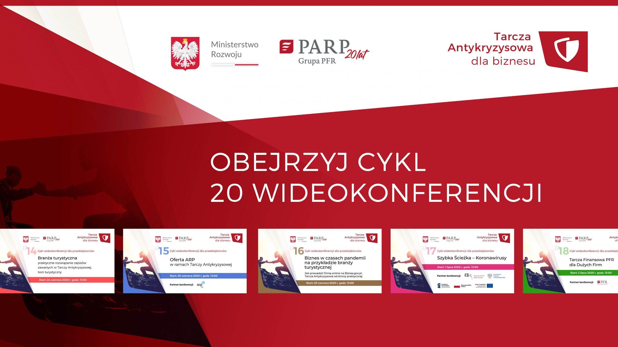 Cykl konferencji dlaprzedsiębiorców (źródło: PARP)