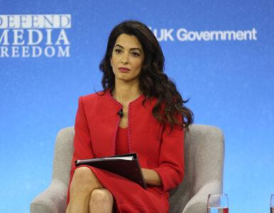 Amal Clooney zrugała Wielką Brytanię i odchodzi ze stanowiska. Stanowczy list żony hollywoodzkiego aktora