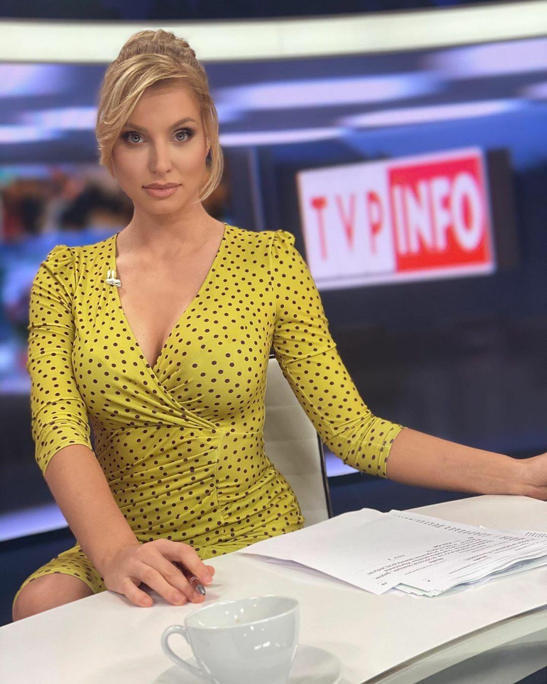 Karolina Pajączkowska z TVP Info na Instagramie komentuje aferę wokół swojego wyglądu