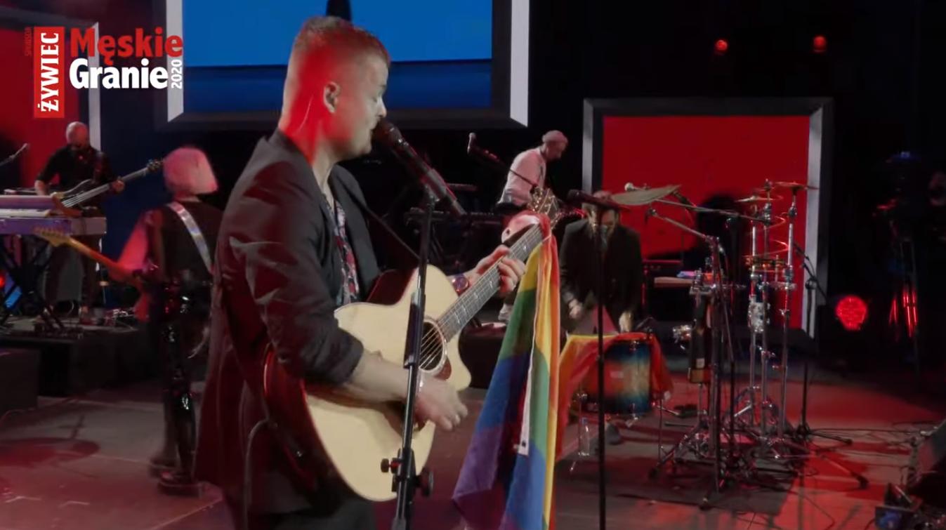 Męskie Granie 2020 Żywiec i manifest ws. LGBT. Tęczowe flagi i słowa Podsiadło