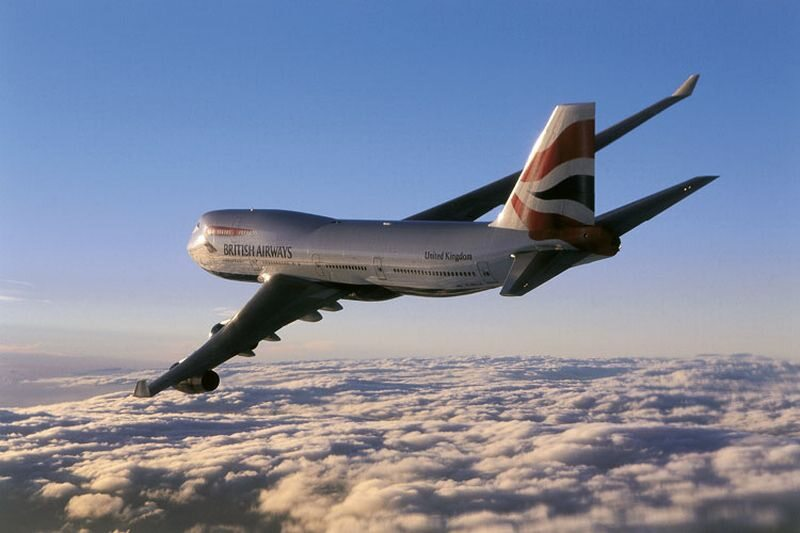Boeing 747-400 w barwach British Airways