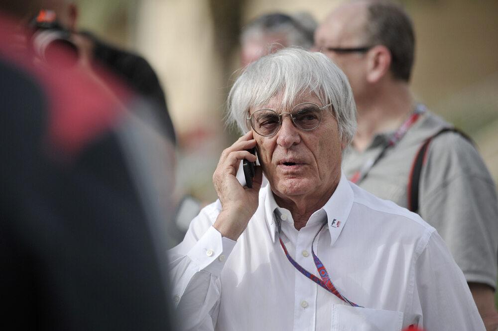 Bernie Ecclestone w wieku 89 będzie miał syna