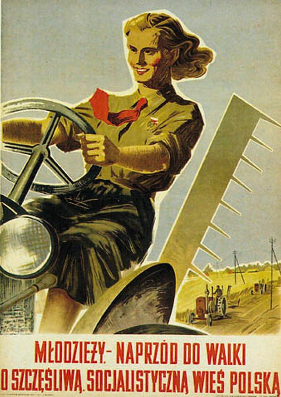 Kobiety na traktory, czyli jeden z najbardziej znanych plakatów ...
