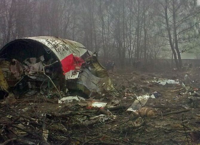 Tu-154M rozbi� si� w Smole�sku 10 kwietnia 2010 roku (fot. PRSteam.net/Wikipedia)