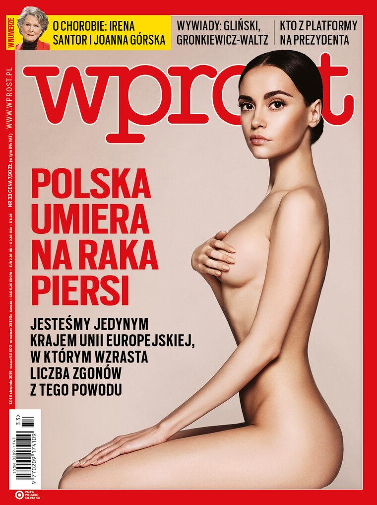 """Rak piersi znów zabija Polki. Co jeszcze w nowym """"Wprost"""