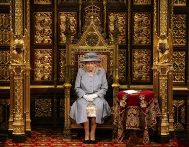 Królowa Elżbieta II pierwszy raz wystąpiła po śmierci swojego męża.
