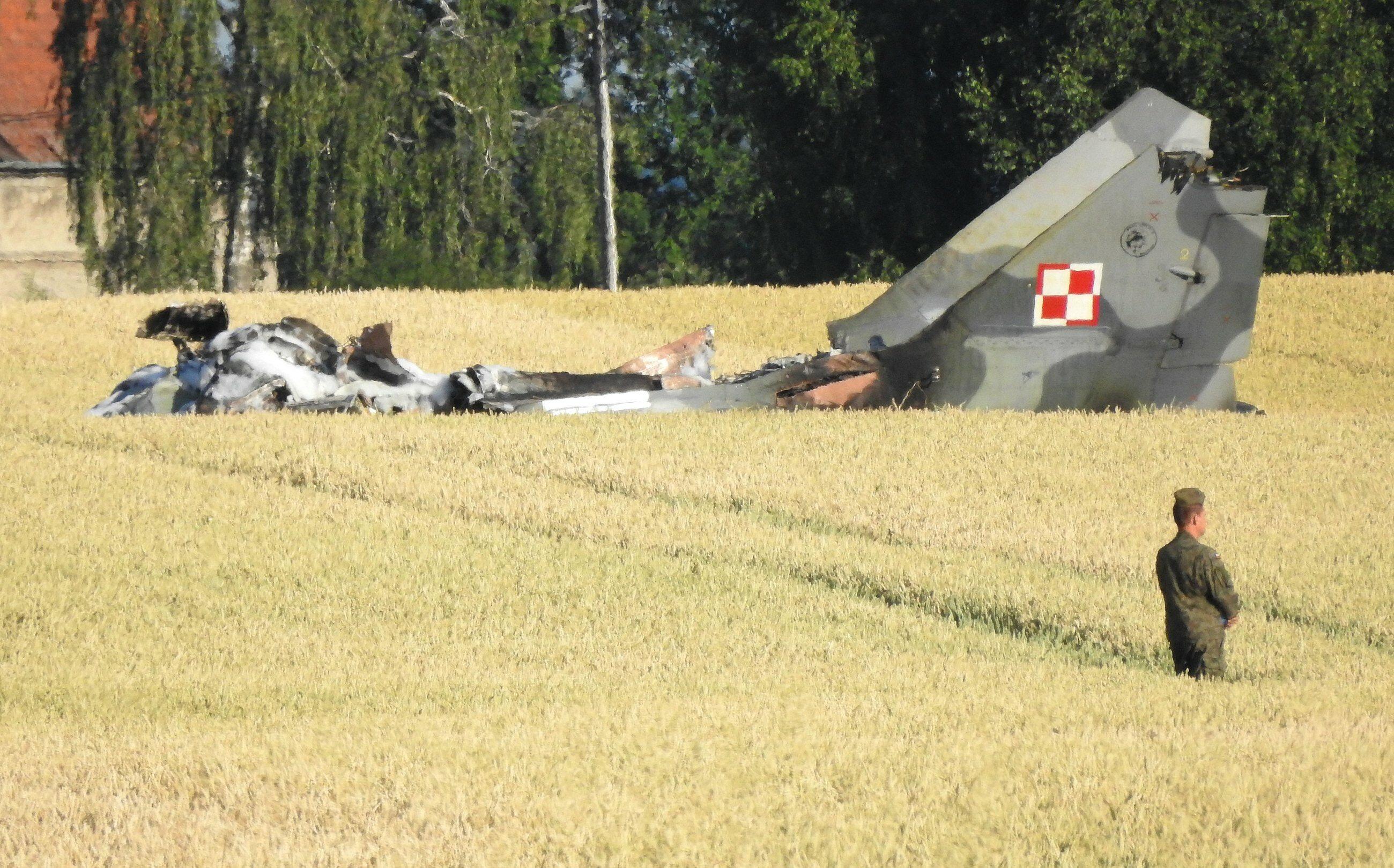 Nowe fakty ws. przyczyn katastrofy samolotu MiG 29