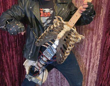 Prince Midnight oddał hołd zmarłemu wujowi. Z kości zrobił gitarę