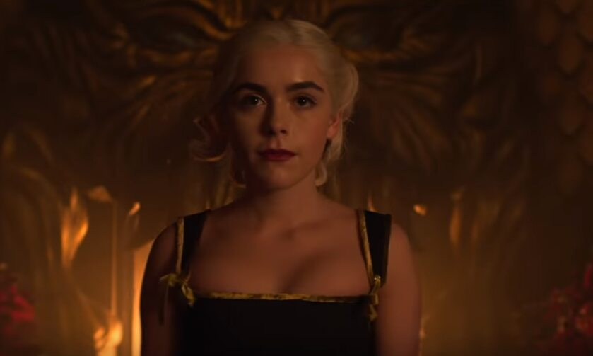 "Kadr z 3. sezonu serialu ""Chilling Adventures of Sabrina"""