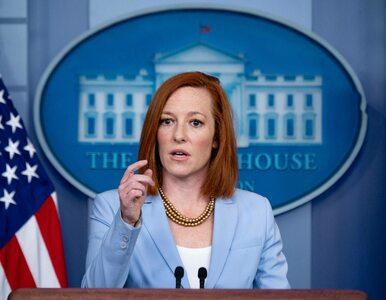 Jen Psaki o sankcjach nałożonych przeciwko Białorusi