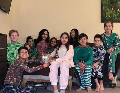 Nadya Suleman, matka 14 dzieci bawi się na imprezie urodzinowej