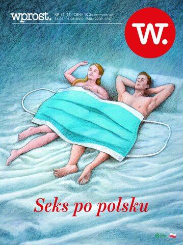Okładka tygodnika Wprost nr 27/2020 (1943)
