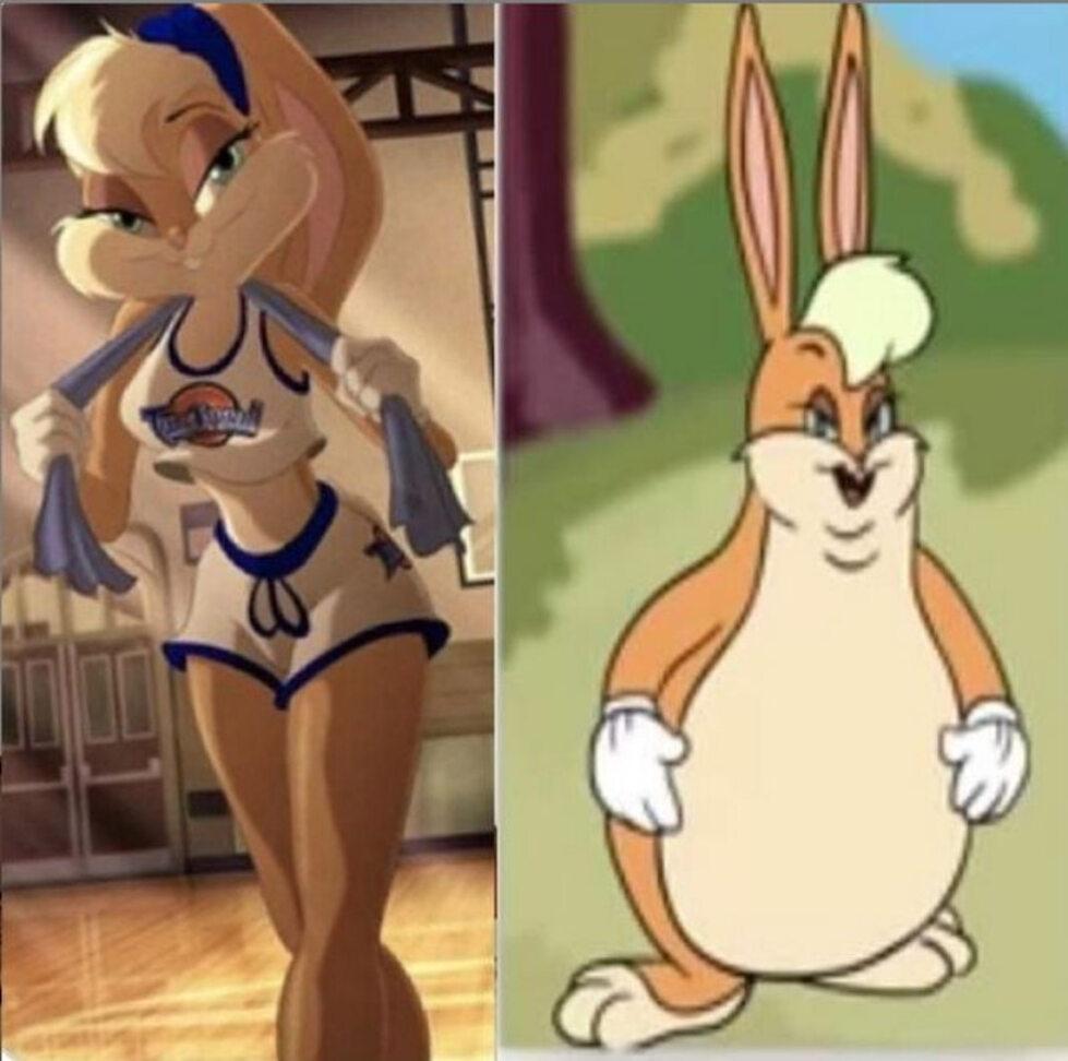 """Artur Dziambor bronił Loli Bunny z """"Kosmicznego meczu"""". Internauci  zaatakowali memami z króliczką"""