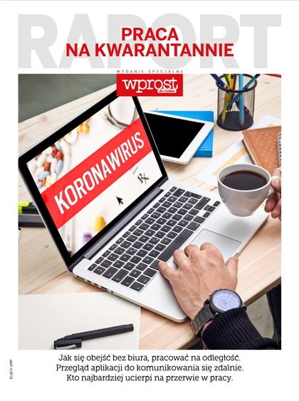 Raport: Praca na kwarantannie